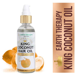 King Coconut Oil All Purpose Hair And Skin Care For Men & Women,100Ml