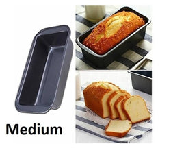 Bread Mould - Aluminium Non Stick Coated Baking-Tray Bread Loaf Mould Pan ( Medium )