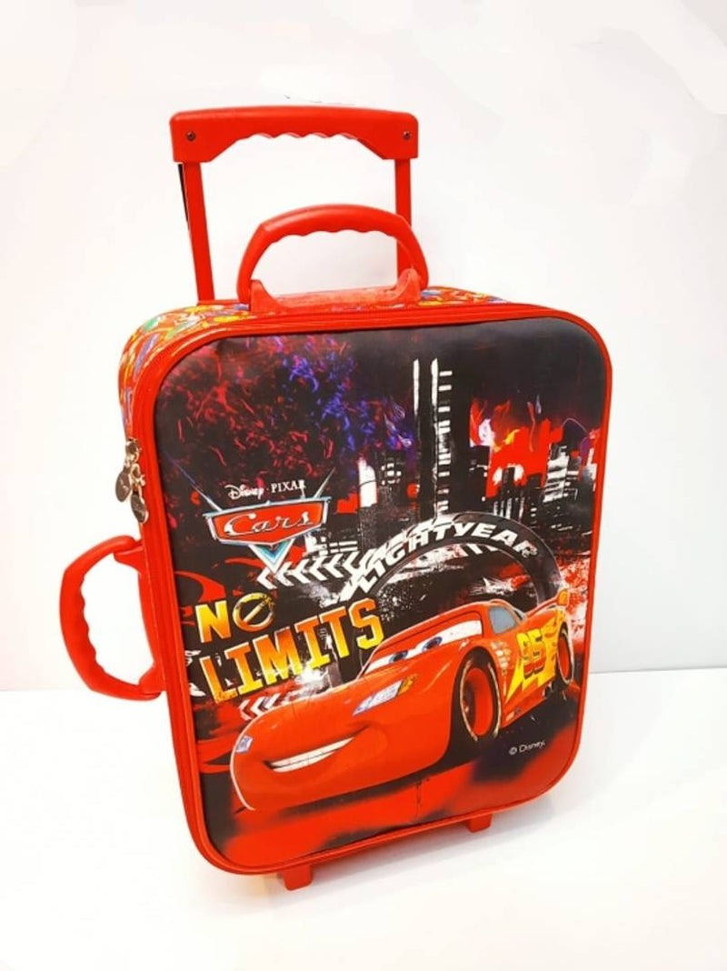 Creative Red Polyester Printed Trolley For Kids