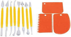 Cake Modelling, Decorating Kit & Cake Scrapper Set Cake Decorating Modelling Fondant Tool Set