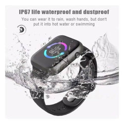 Smart Watch Bluetooth connectivity T500 Series 5 Waterproof product Call Smart Watch ECG Heart Rate Monitor Smartwatch For Android iOS (with Strap) (Black)