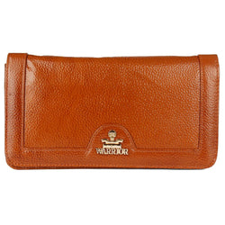 Stylish Leather Tan Hand Cluches For Women
