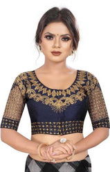Dulhan Readymade Blouse with Fancy Design