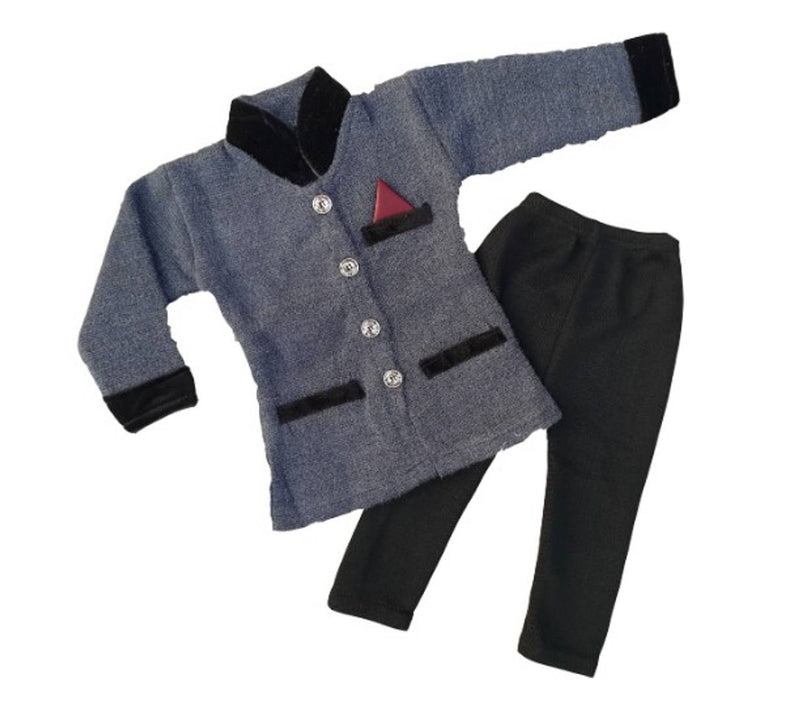 Boy Modi suit woolen Pajama set (pack of 1)