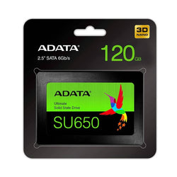 A-DATA Ultimate SU650 3D NAND 120GB Solid State Drive