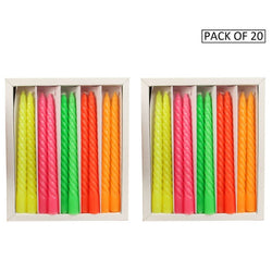 Premium Candle For Decoration( Pack Of 20 Pieces )