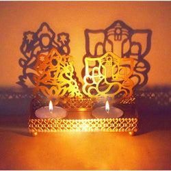 Premium Tea Light Holder For Decoration( Pack Of 2 Pieces )