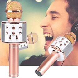 Wireless Bluetooth Microphone For Karaoke With Inbuilt Speaker