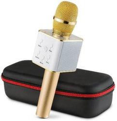 Q7 Bluetooth Wireless Karaoke Mike For With All Smart Phones Microphone WM010 Microphone