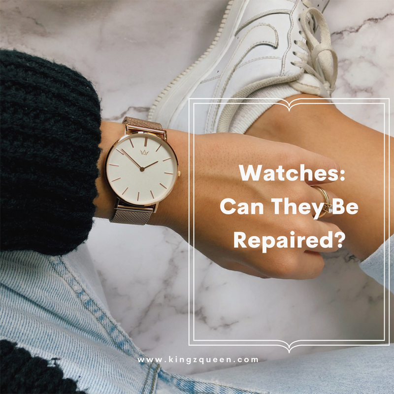 Watches: Can They Be Repaired?