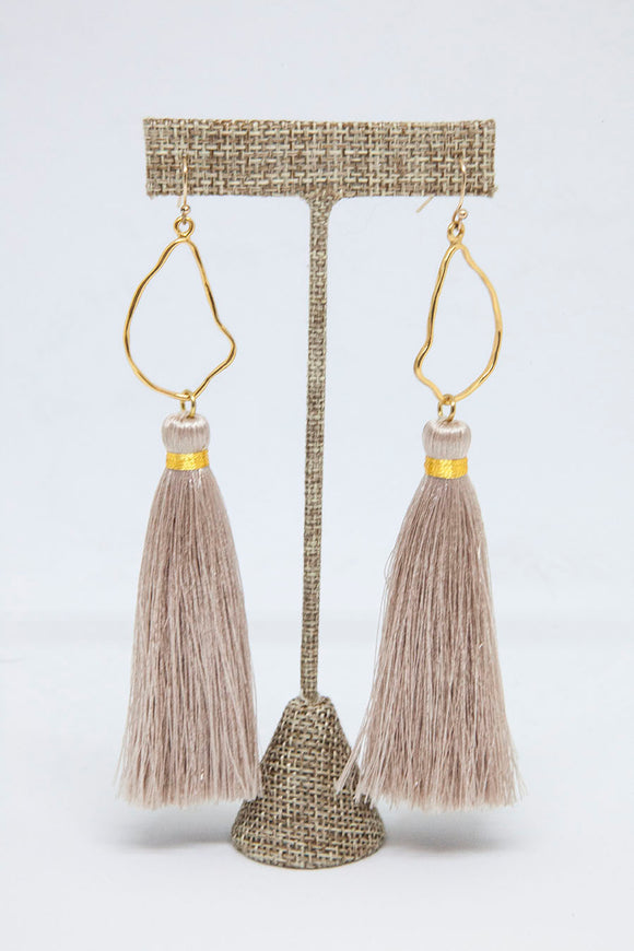 CHAMPAGNE OYSTER TASSELS