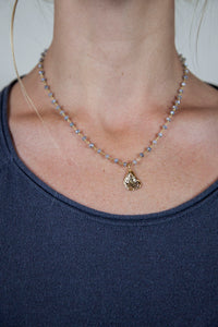 OYSTER CHARM NECKLACE