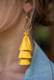 YELLOW OYSTER TASSELS
