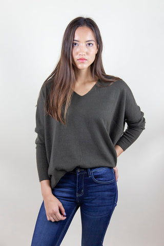 BACK TO THE BASICS SWEATER