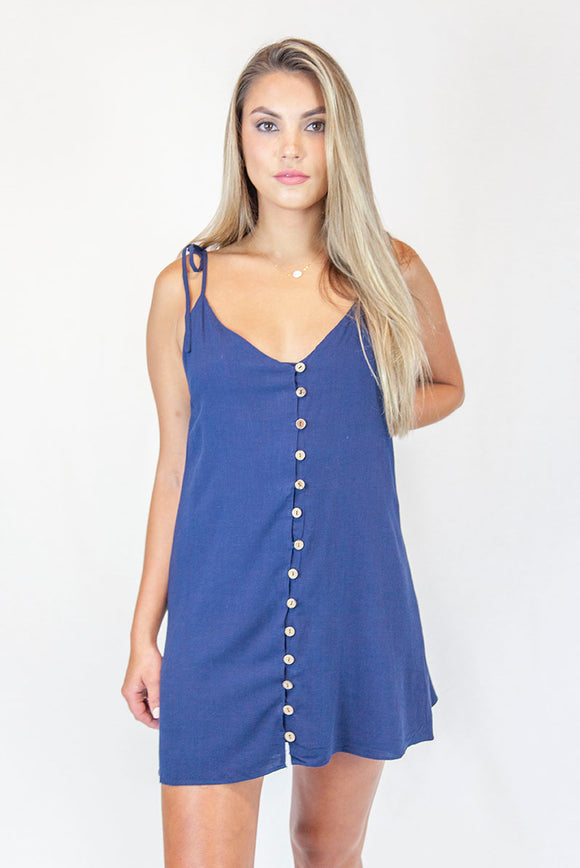 CUTE AS A BUTTON DRESS