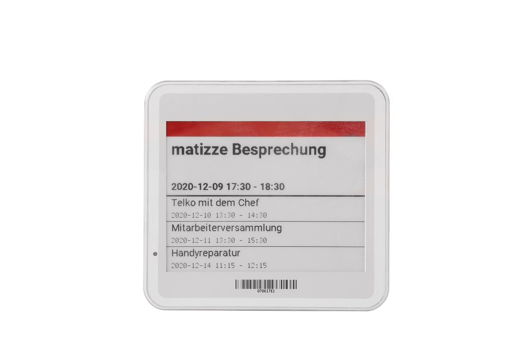 4.2 inch E-Ink color display (B / W / R) - matizze Sunrise