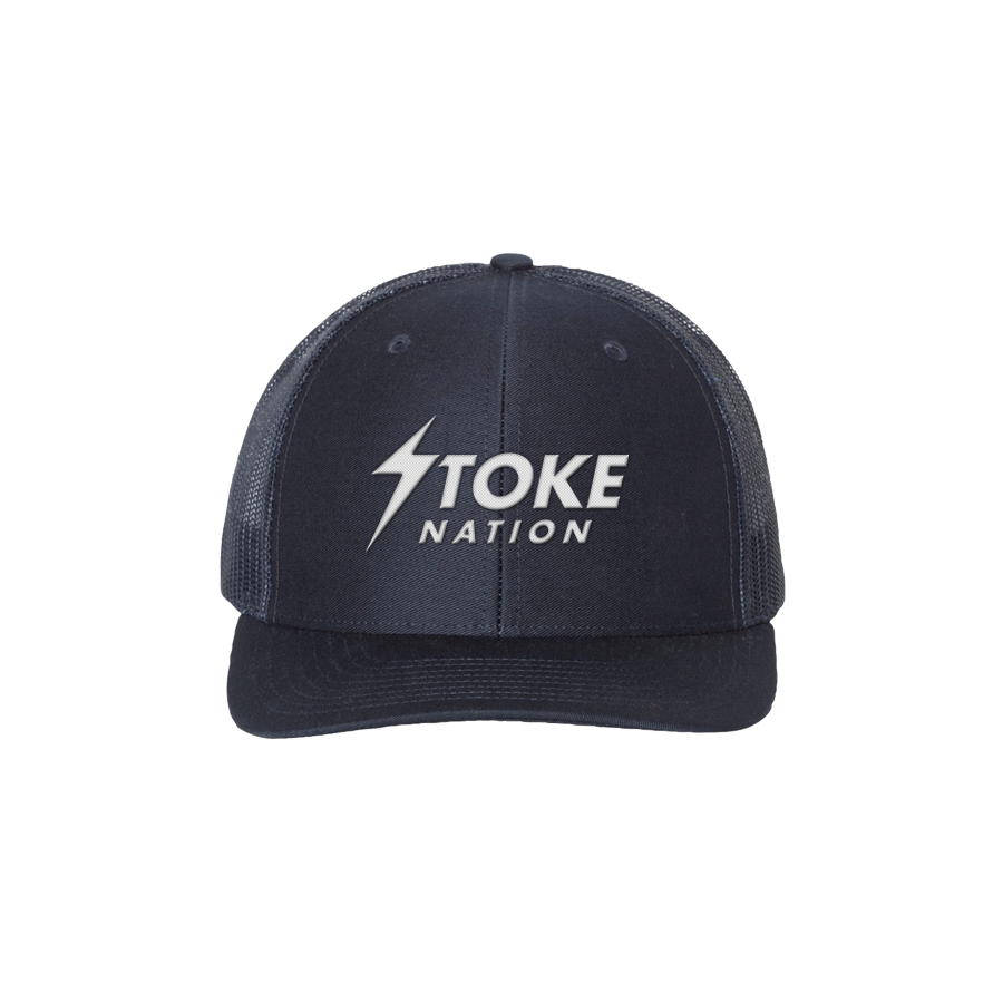 Stoke Nation Trucker Dome Piece | Navy