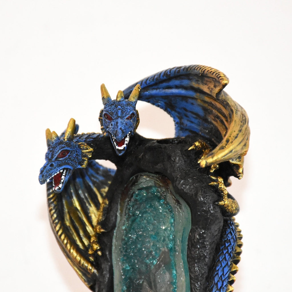 Resin LED Dragon BackFlow Incense Burner