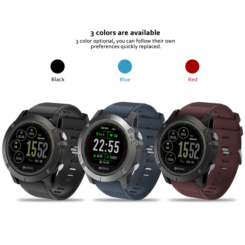 Sports Smartwatch Heart Rate Monitor