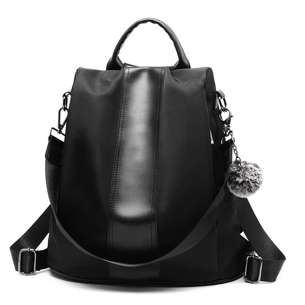 Quality Leather Anti-thief Women Backpack