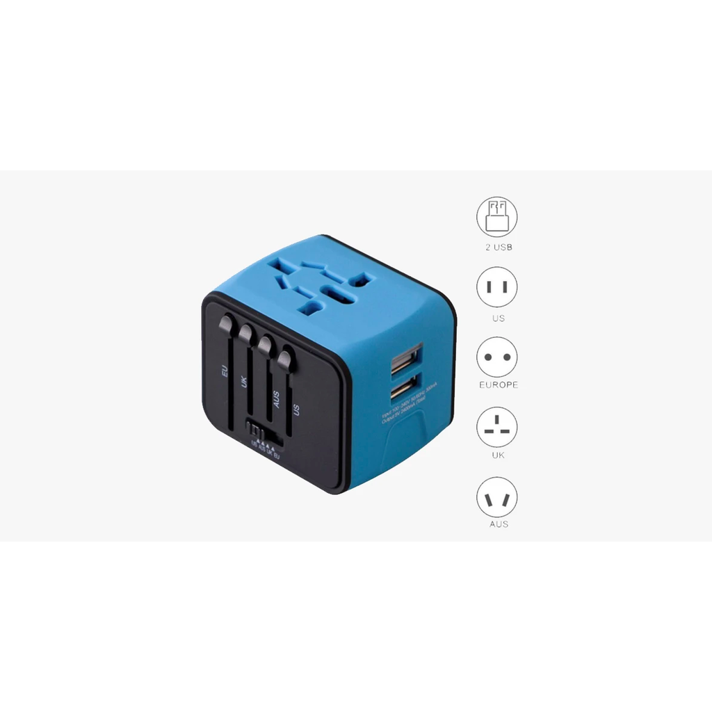 Perfect Travel adapter  (Ships From USA)