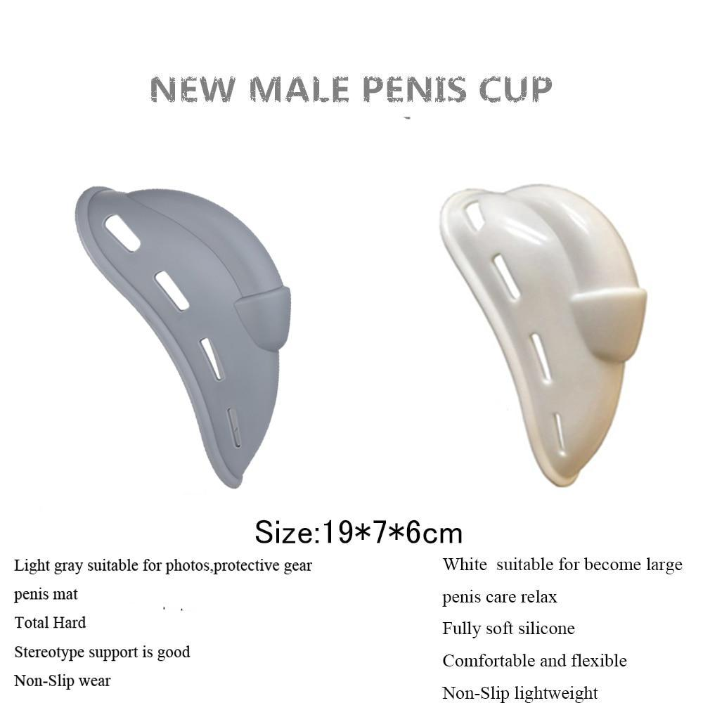 Men Silicone Inside Enlarge Pouch Enhancer Penis Pad