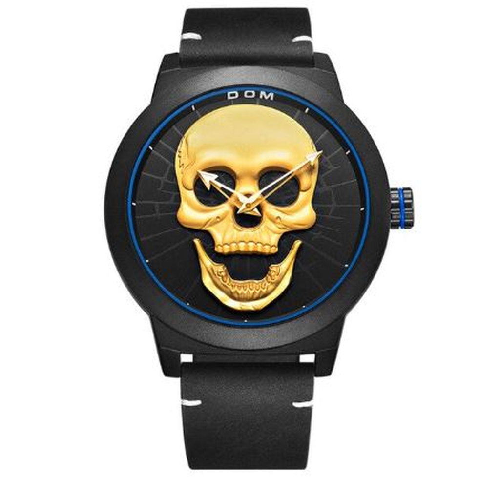 DOM Creative Skull Style Men's Watch