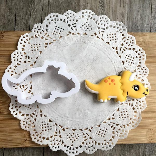 Dinosaur And Habitat Cookie Cutters (Set of 8)