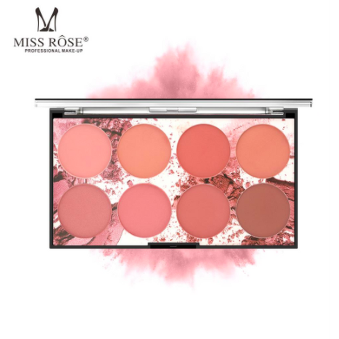 8 Colors Blusher Palette (ships from USA)