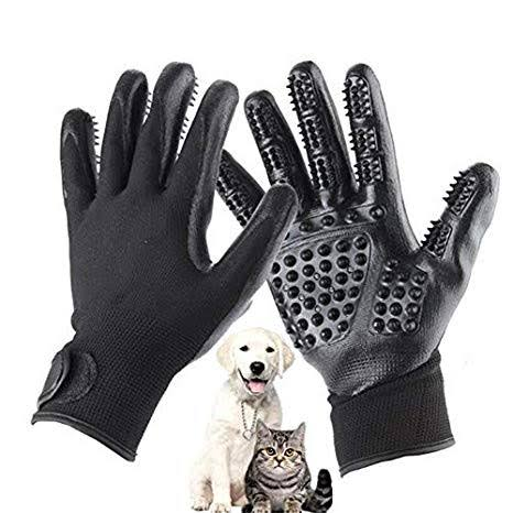 Hirundo® Pet Grooming Gloves For Cats, Dogs & Horses - ( pair )