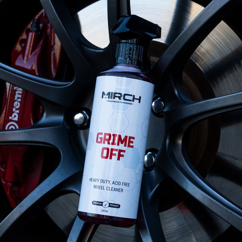 MIRCH GRIME OFF - HEAVY DUTY, ACID FREE - WHEEL CLEANER
