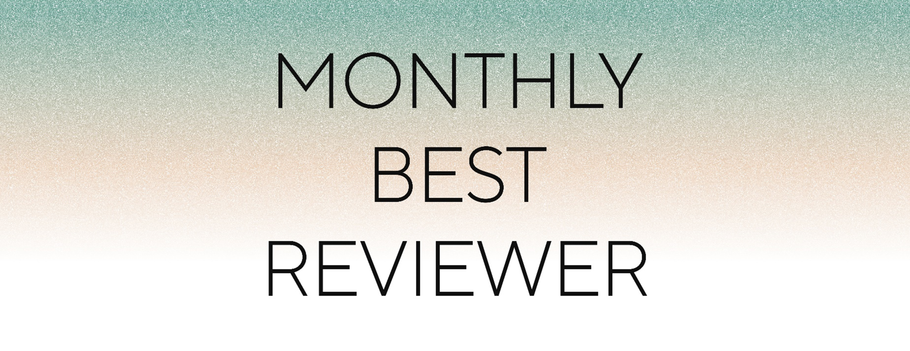 Monthly Best Reviewer