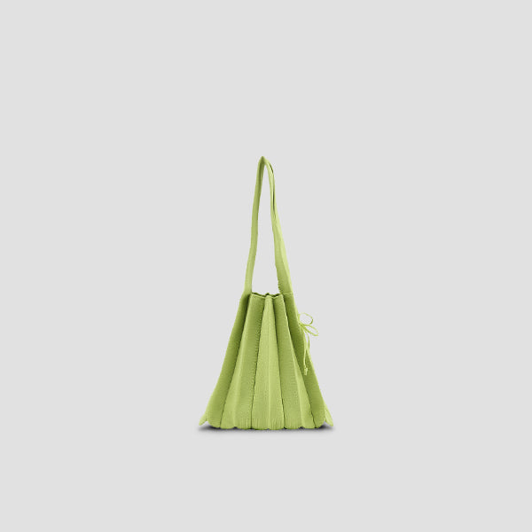 Lucky Pleats Knit S Lime