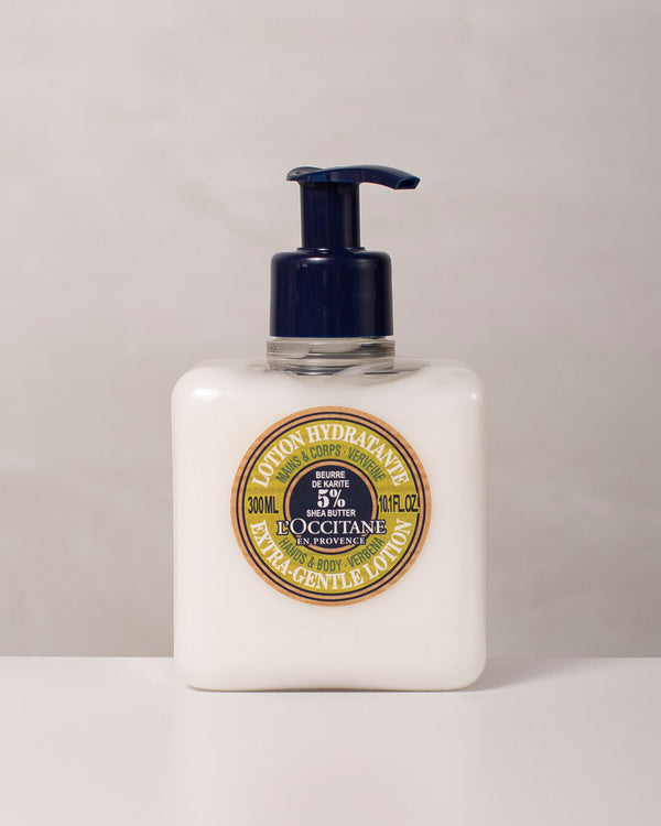 Shea Butter Hands & Body Extra-Gentle Verbena Lotion