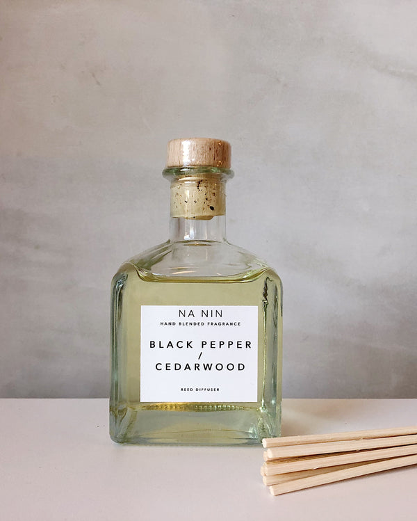 Black Pepper / Cedarwood Reed Diffuser