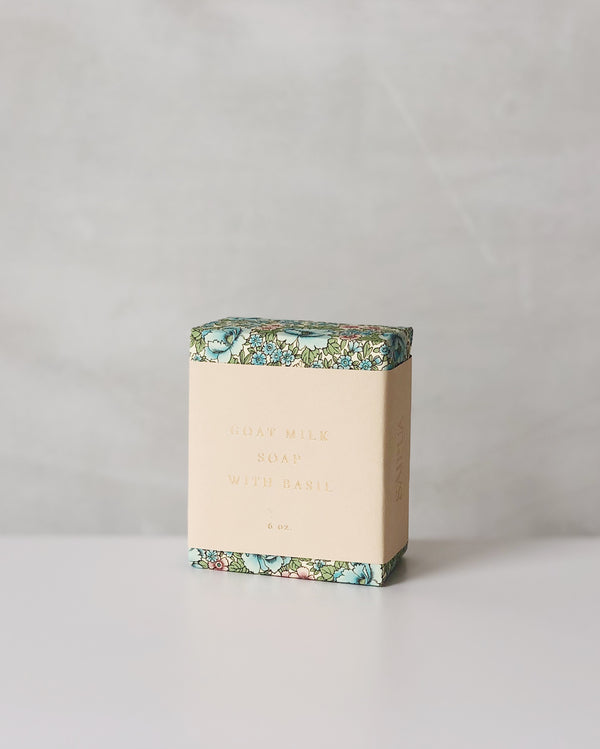 Goats Milk with Basil Bar Soap