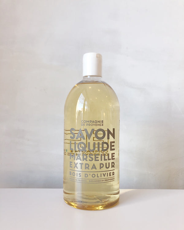 Liquid Marseille Soap Refill - Olive Wood
