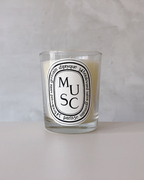 Musc Candle 6.5oz