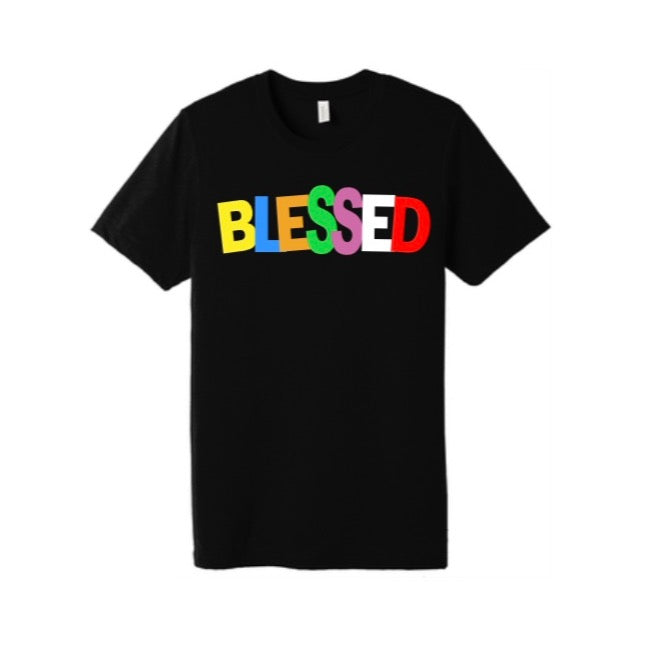 MENS COLOR WAY BLESSED TEE
