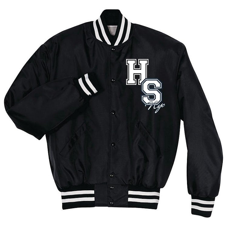 Black & White House of Styles Varsity Jacket
