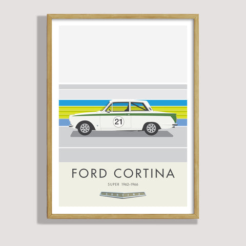Ford Cortina racing car - ScooterModern