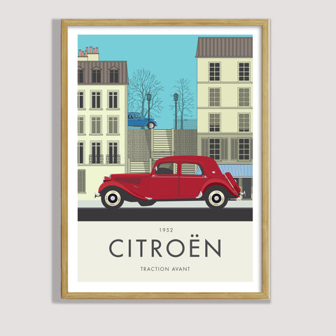 Citroën Traction Avant in Paris - ScooterModern