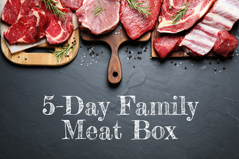 The 5 day Family Meat Box