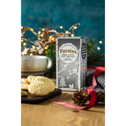 Furniss Christmas Clotted Cream Shortbread (160g)