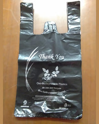Small Black Oxo-Biodegradable Bags