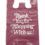 Small Thank-You T-Shirt Shopping Bag