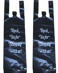 Bottle-Sized Plastic Shopping Bags