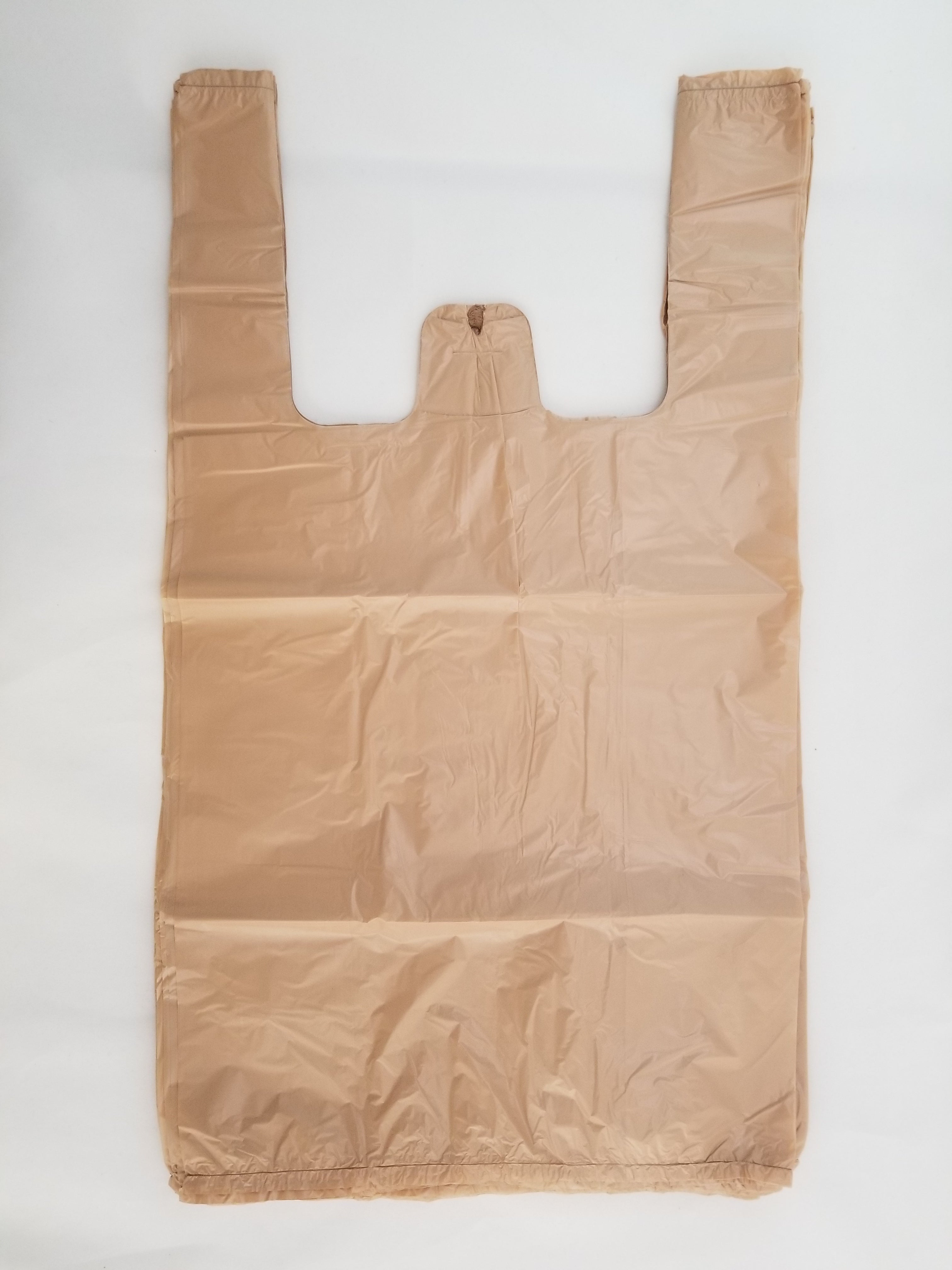Medium Plain T-Shirt Shopping Bags