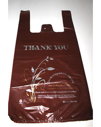 Large Chocolate Oxo Biodegradable Plastic Bags