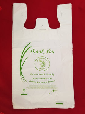 Large Oxo-Biodegradable Plastic Shopping Bags